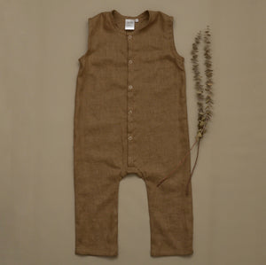 Logan Jumpsuit Gingerbread MTO