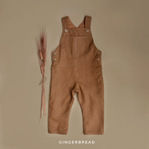 Finley Overalls Gingerbread MTO