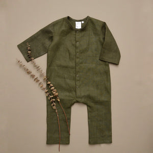 Logan Jumpsuit Long Sleeve  MTO