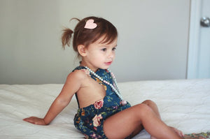 Vintage Floral Rompers MTO