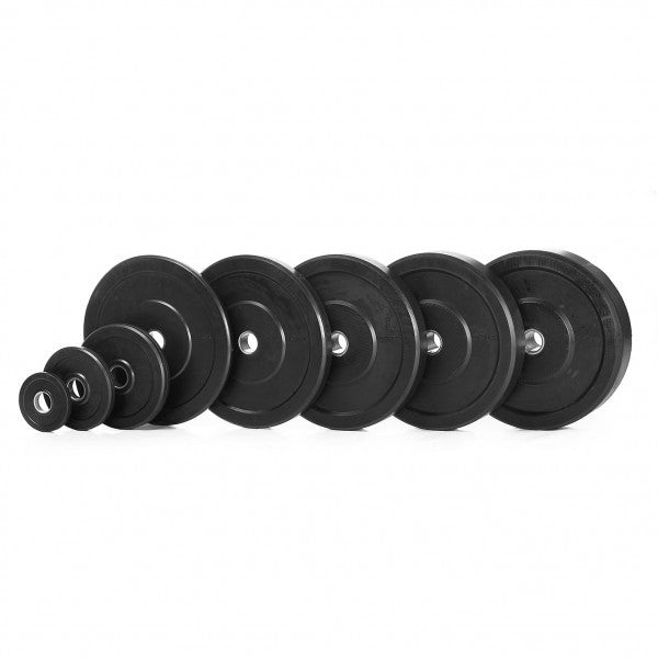 Thor Fitness Bumperplates i sort