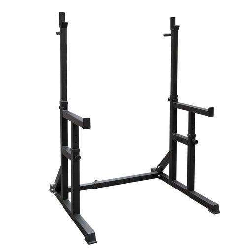 Squat Rack med Safety bars og Dip Håndtag