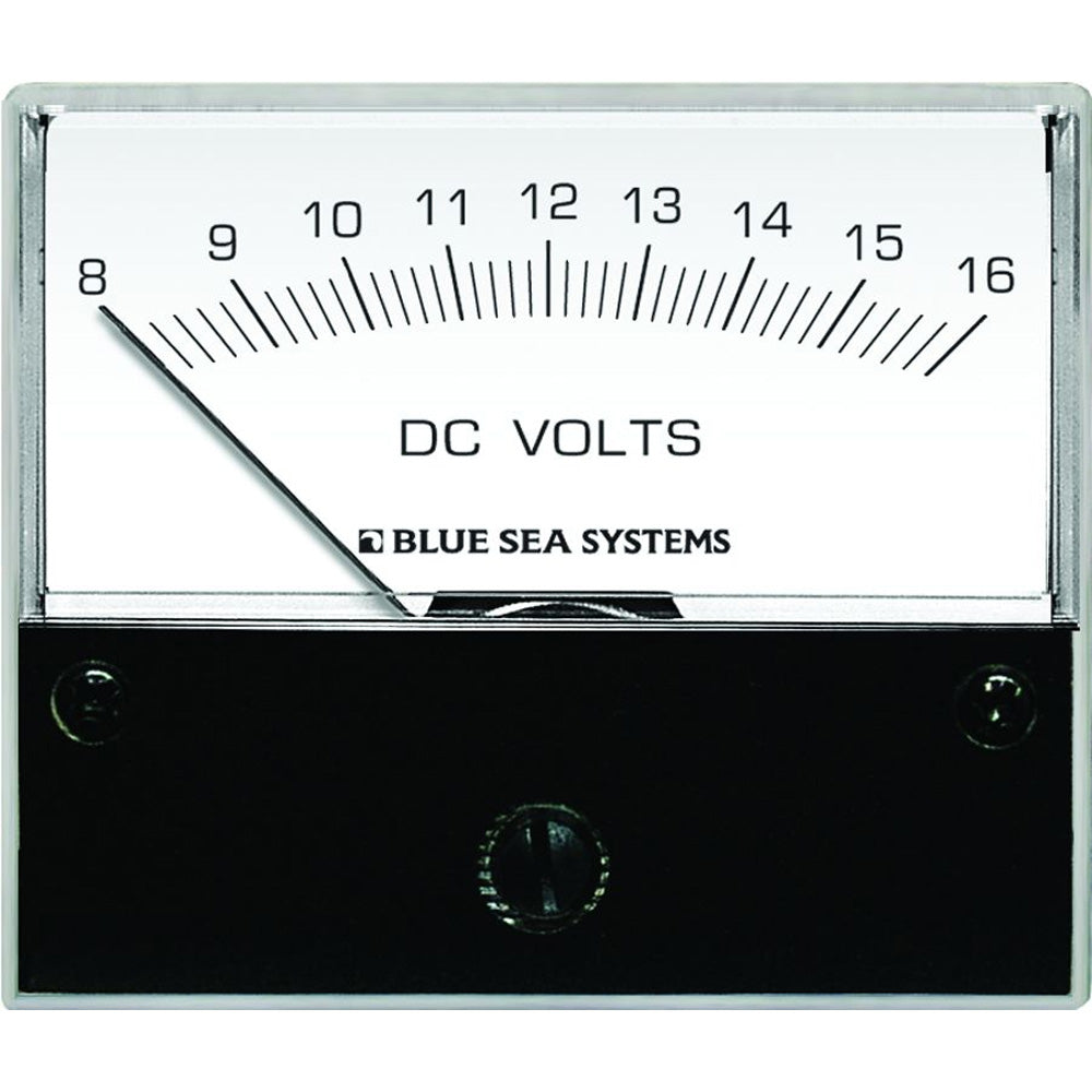 Blue Sea 8003 DC Analog Voltmeter - 2-3-4