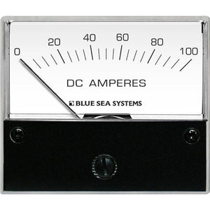 "Blue Sea 8017 DC Analog Ammeter - 2-3-4"" Face, 0-100 Amperes DC [8017]"