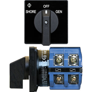 Blue Sea 9011 Switch, AV 120VAC 65A OFF +2 Positions [9011]