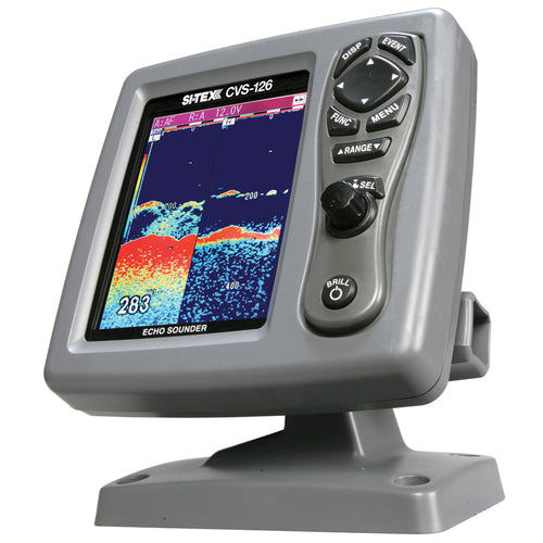 SI-TEX CVS-126 Dual Frequency Color Echo Sounder [CVS-126]