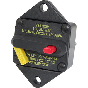 Blue Sea 7086 80 Amp Circuit Breaker Panel Mount 285 Series [7086]