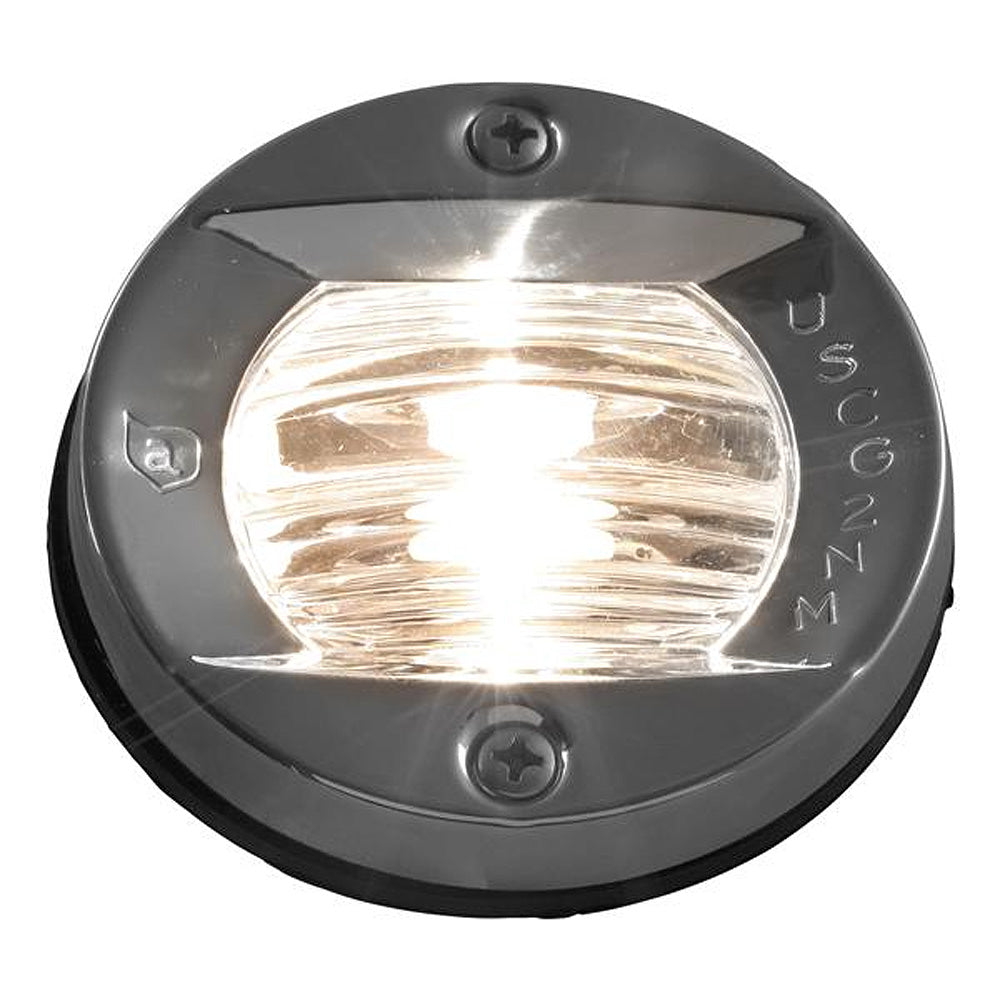 Attwood Vertical, Flush Mount Transom Light - Round [6356D7]