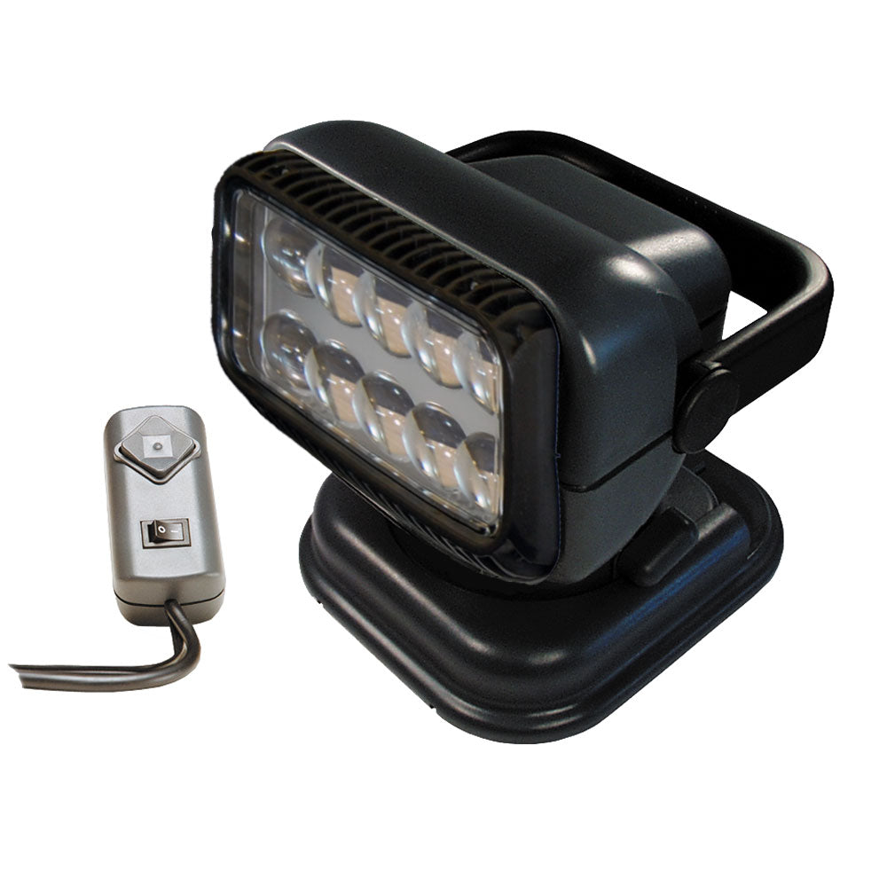 Golight Portable RadioRay LED w/Wired Remote - Grey [51494]