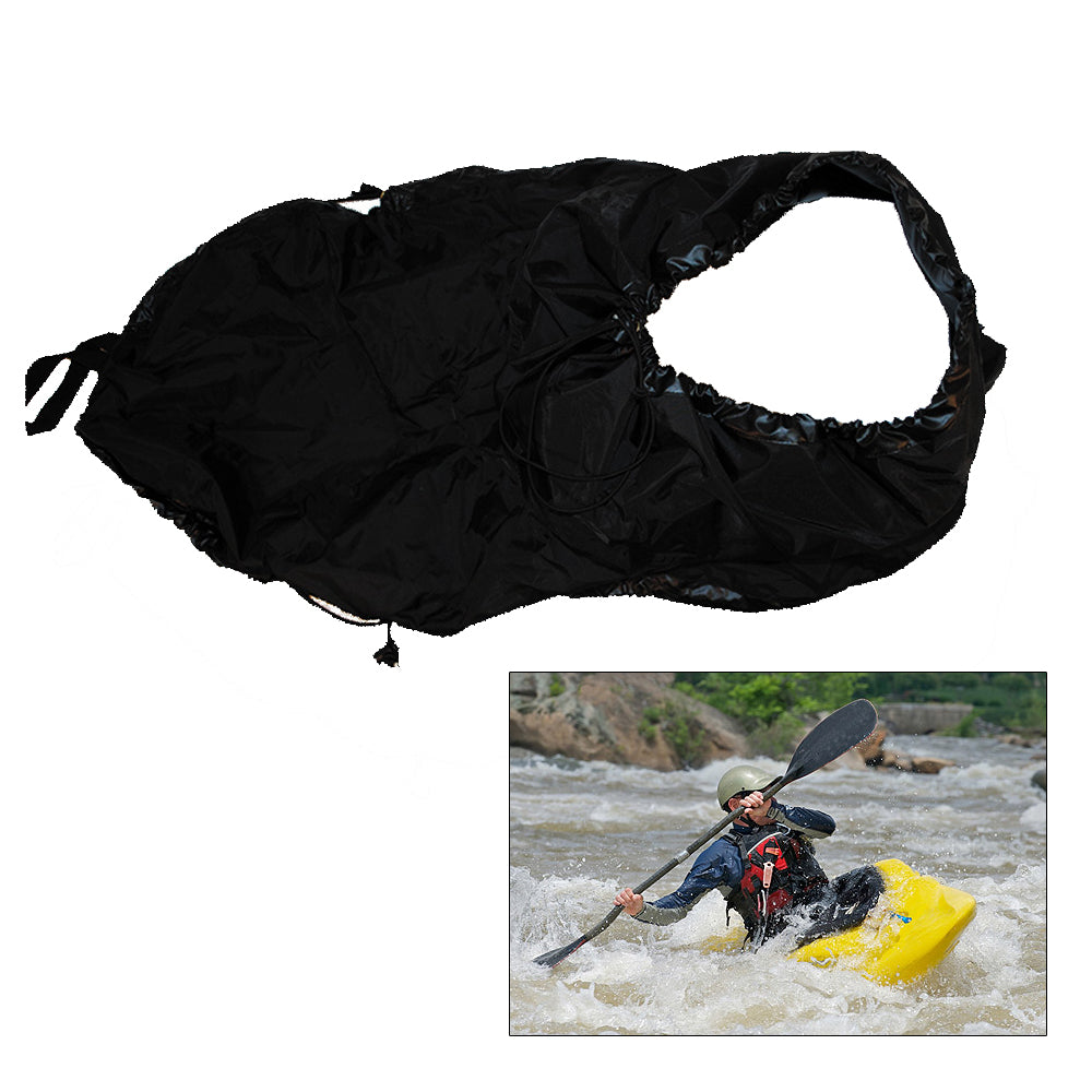 Attwood Universal Fit Kayak Spray Skirt - Black [11776-5]