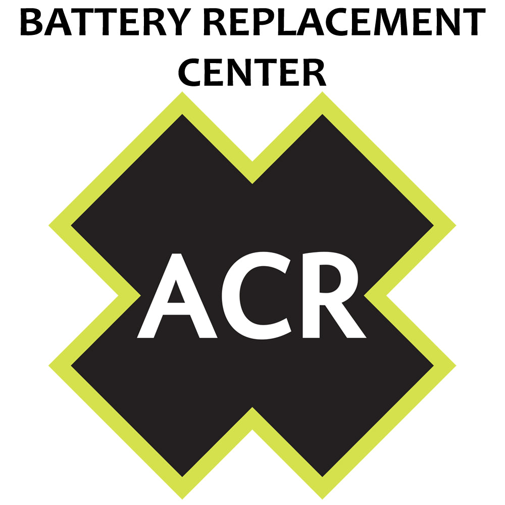 ACR FBRS 2874 Battery Replacement Service - Satellite3 406 [2874.91]