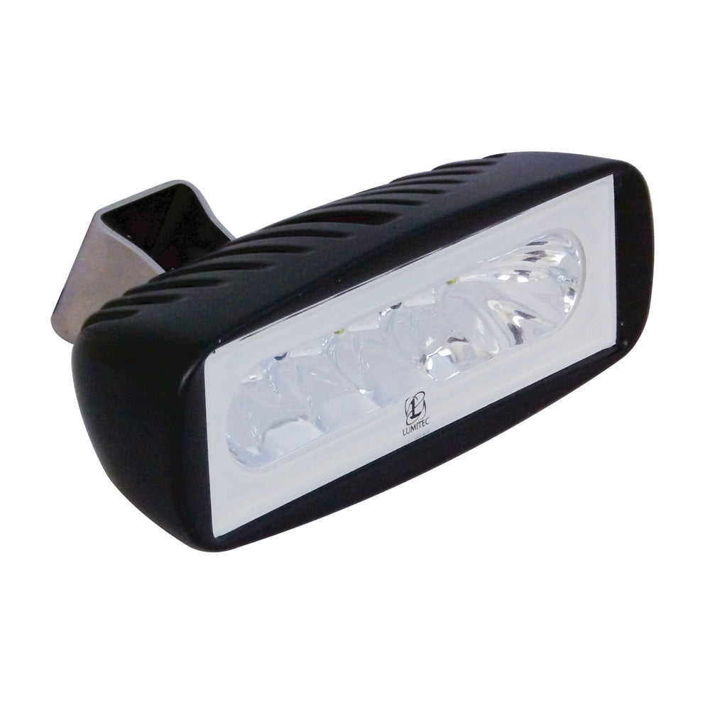Lumitec Caprera - LED Light - Black Finish - White Light [101185]