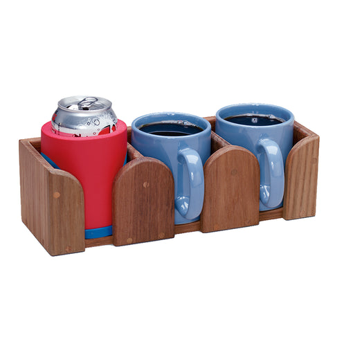 Whitecap Teak THree Mug Rack [62410]