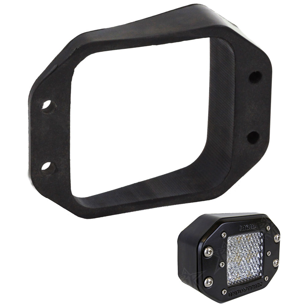 RIGID Industries D-Series Angled Flush Mount Kit - Left/Right [49010]