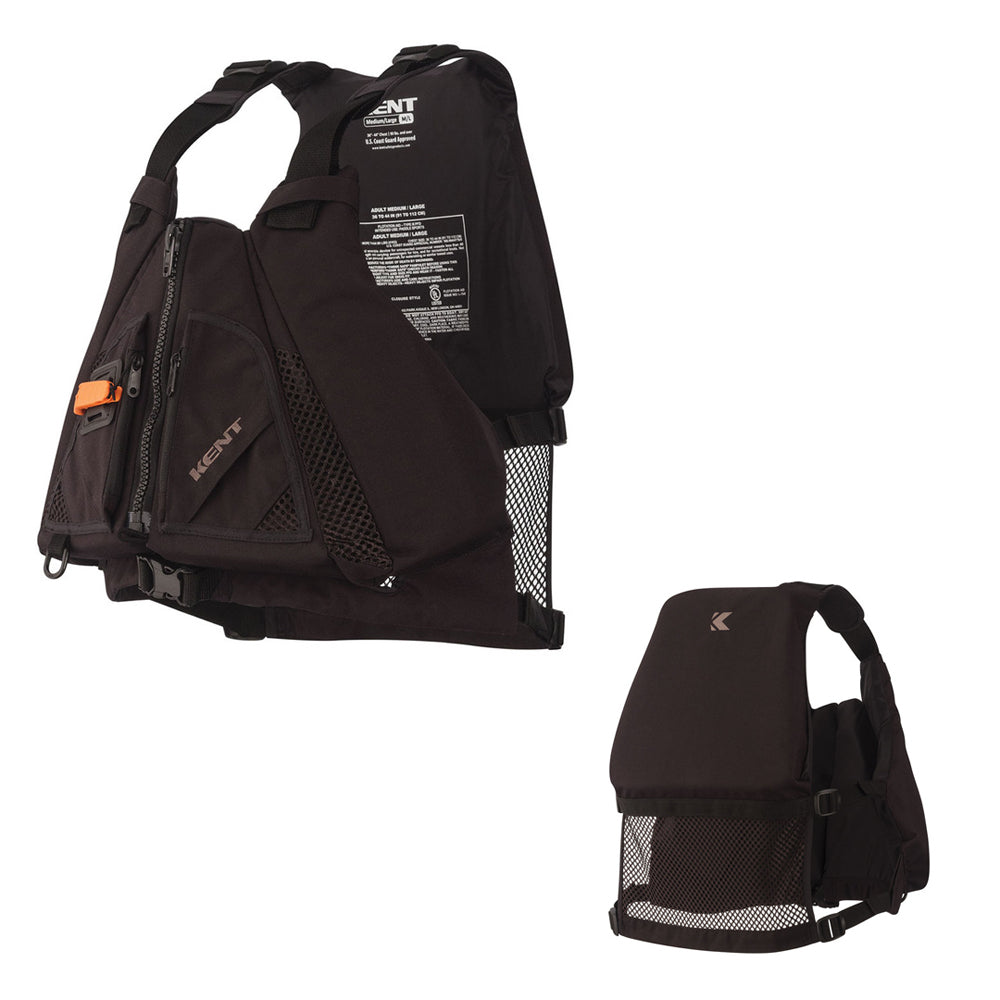 Kent Law Enforcement Life Vest - Black - Medium/Large [151600-700-040-13]