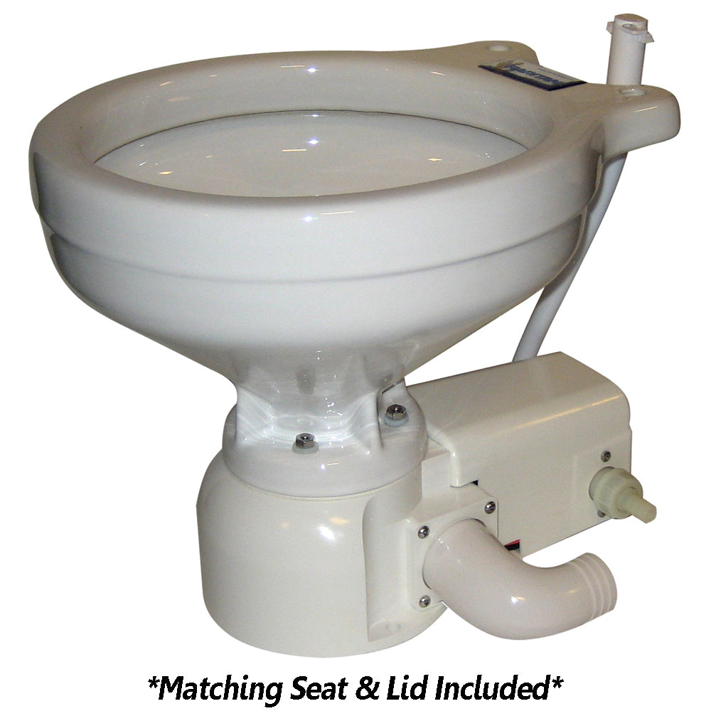 Raritan Sea Era Household Size Toilet - Press - Fresh Water - Straight & 90 Discharge - Smart Switch - White [162HF012]