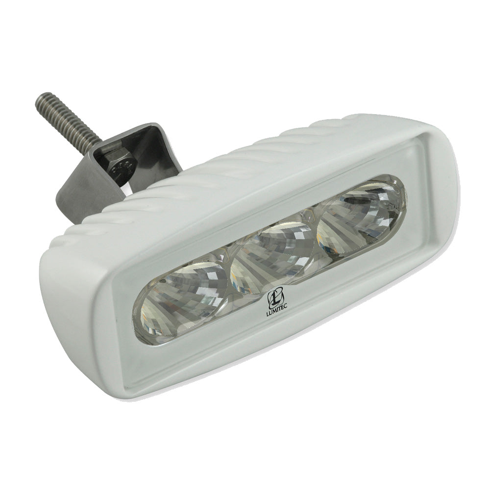 Lumitec CapreraLT - LED Flood Light - White Finish - White Non-Dimming [101292]