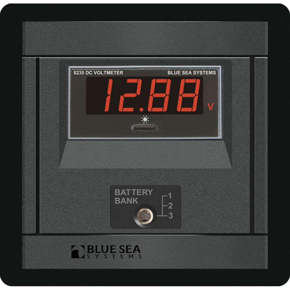 Blue Sea 1474 DC Digital Voltmeter Panel [1474]