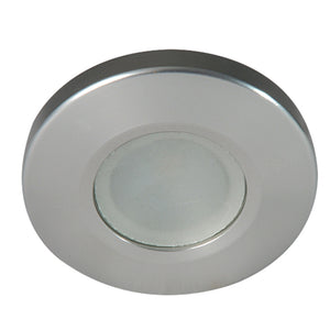 Lumitec Orbit Spetrum Flush Mount Down Light - Brushed Housing - White Dimming & Red/Blue Non-Dimming [112507]