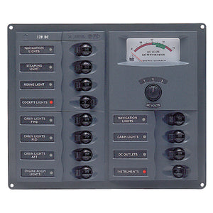 BEP Panel 12SP DC12V Analog [902-AM]