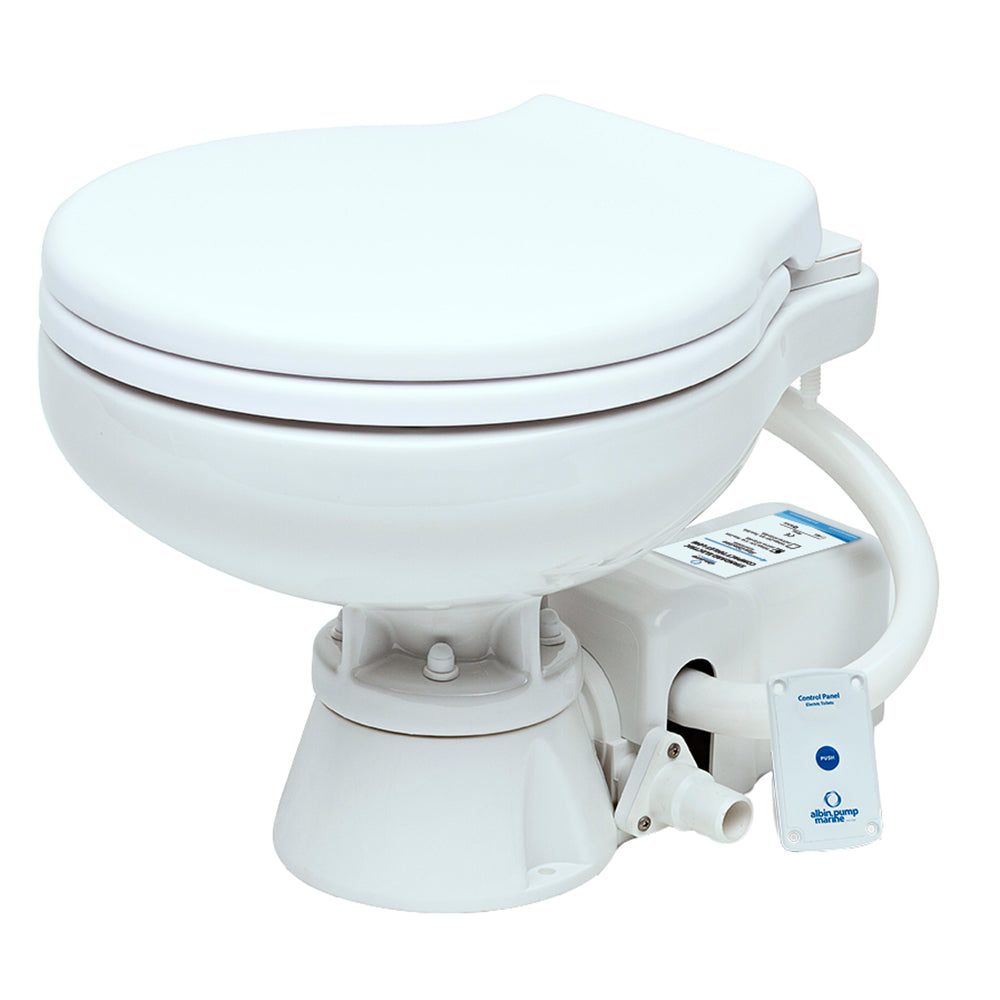 Albin Pump Marine Toilet Standard Electric EVO Compact Low - 24V [07-02-009]