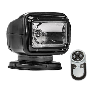 Golight Radioray GT Series Permanent Mount - Black Halogen - Wireless Handheld Remote [2051GT]