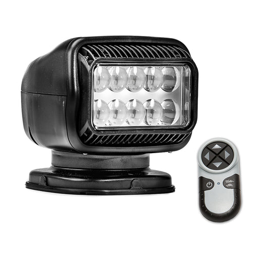 Golight Radioray GT Series Permanent Mount - Black LED - Wireless Handheld Remote [20514GT]
