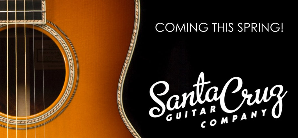 Guitar Gallery has been appointed as the exclusive reseller for Santa Cruz Guitars!