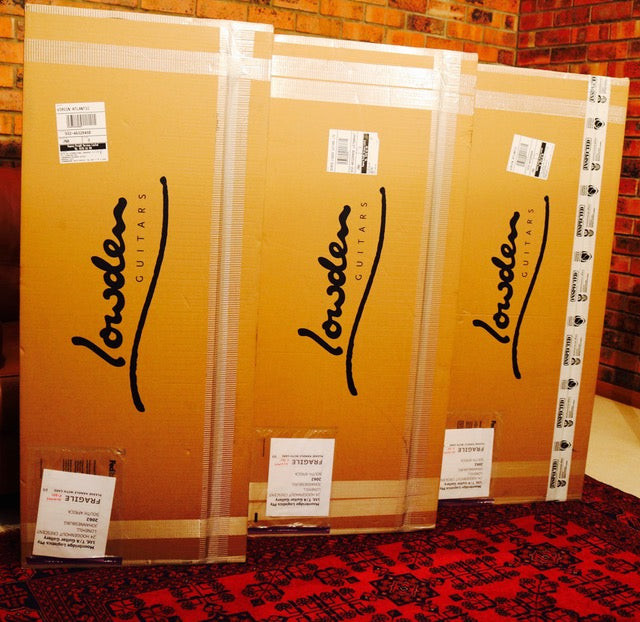 First Lowden guitar shipment arrives at Guitar Gallery!