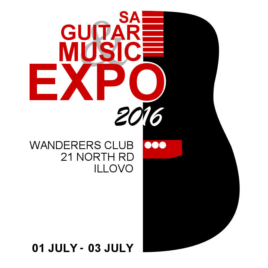 Guitar Expo: 1–3 July 2016