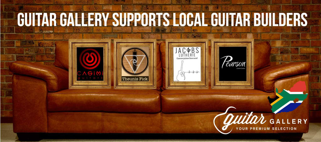 Guitar Gallery supports Local Guitar Builders