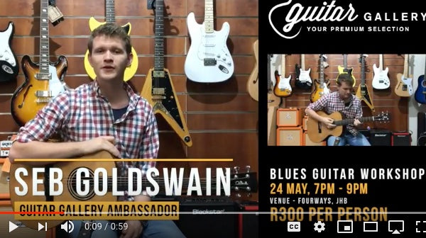Acoustic Guitar Workshop - Jazz up your Blues