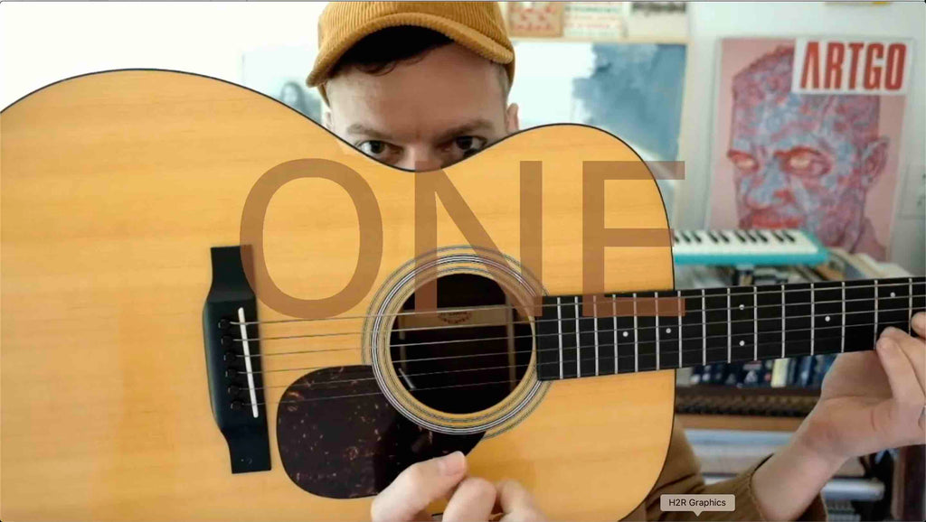 One Minute Guitar Lesson - Using Sus Chords