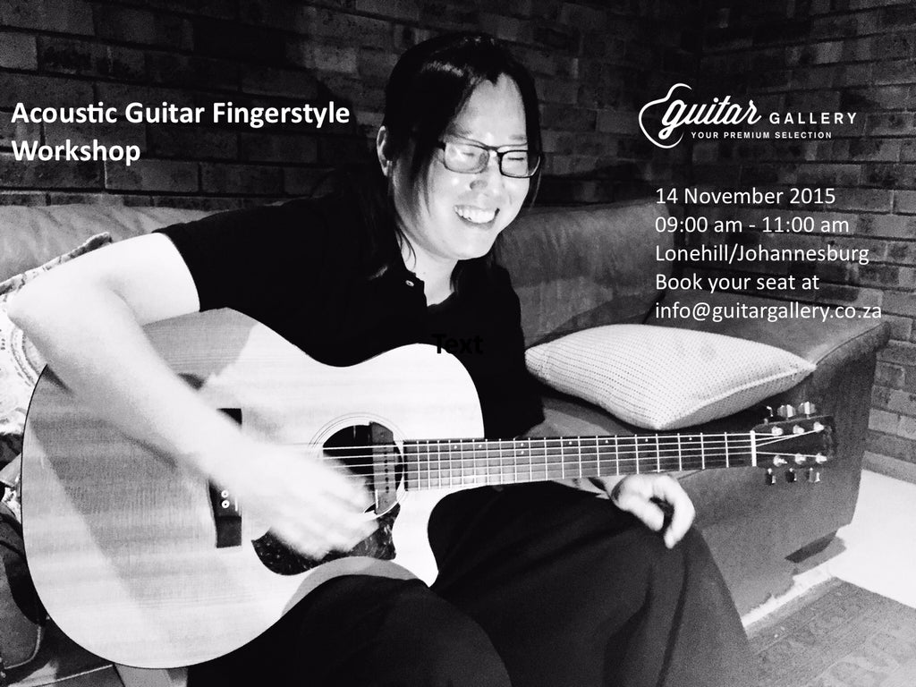 Guitar Gallery presents: Acoustic fingerstyle workshop