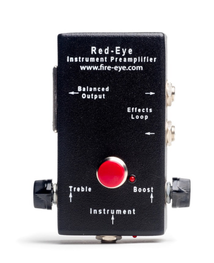 Red-Eye Preamp, supplied by Guitar Gallery, South Africa