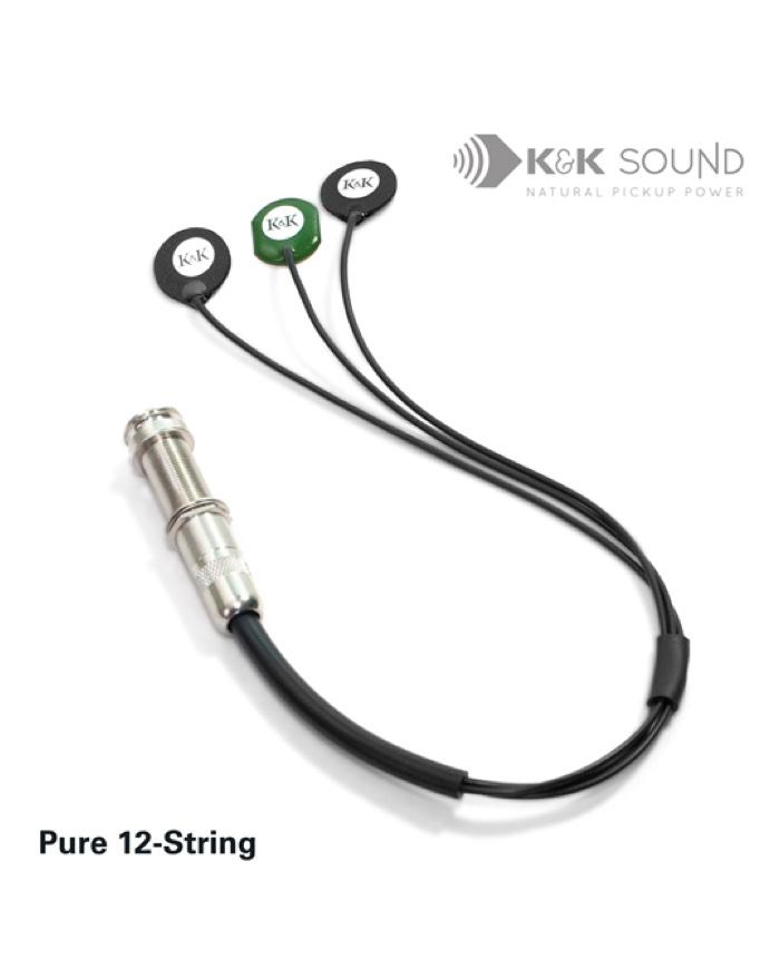 K&K Pure 12-String Acoustic Pickup