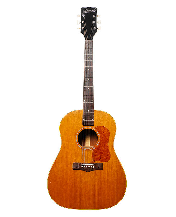 Vintage 1958 National 1155e Natural with Gibson j-45 body