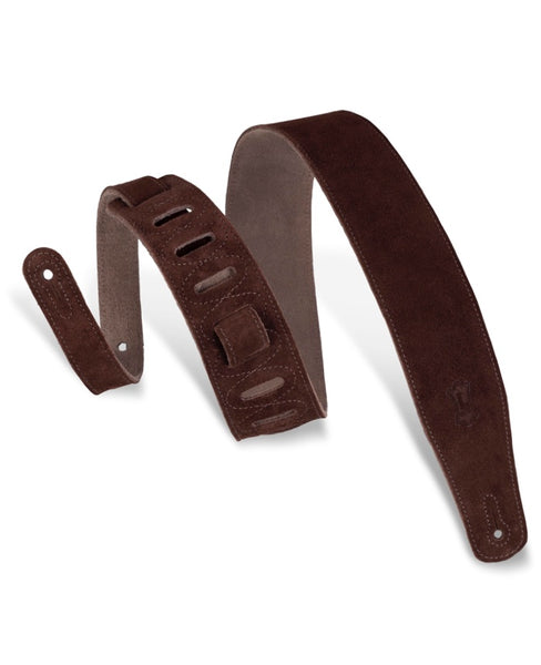 "Levy's Strap 2 1/2"" Suede Brown"