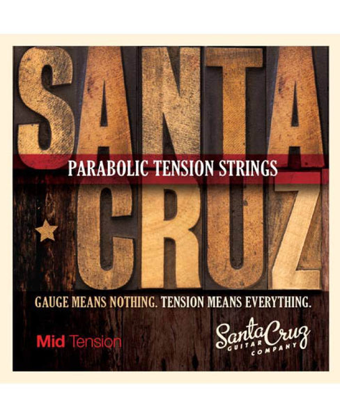 Santa Cruz Guitar Strings - Mid Tension
