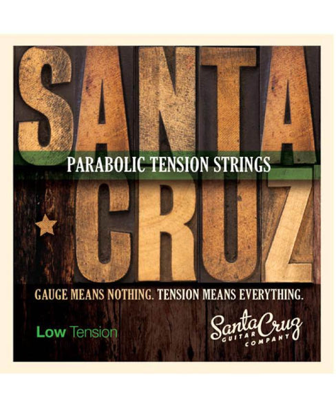 Santa Cruz Guitar Strings - Low Tension