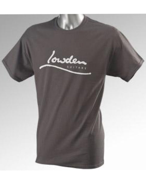 Lowden Charcoal Logo T-Shirt