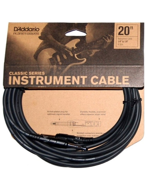 CLASSIC SERIES INSTRUMENT CABLE - 20ft.