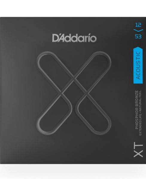 D'Addario XT Acoustic Phosphor Bronze Light (12-53)