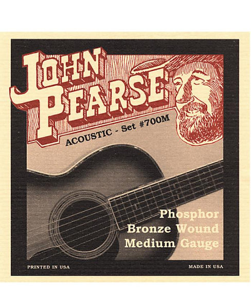 John Pearse 700M Phosphor Bronze (Medium)