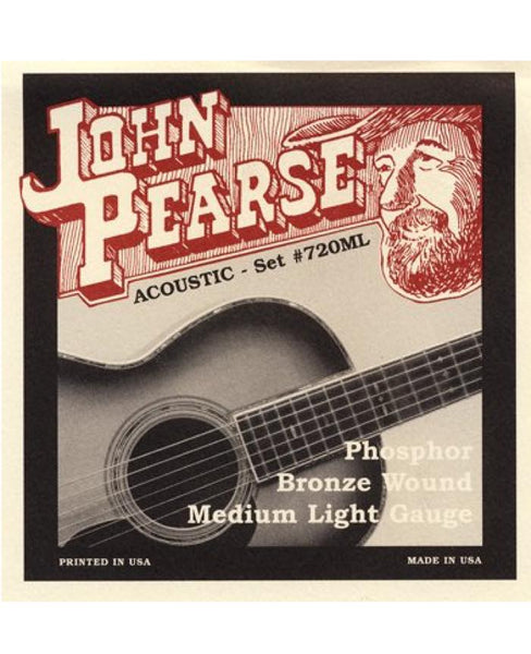 John Pearse 720ML Phosphor Bronze (Medium Light)