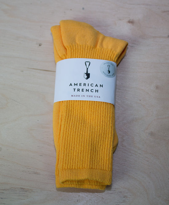 MIL-SPEC SPORTS SOCKS - YELLOW