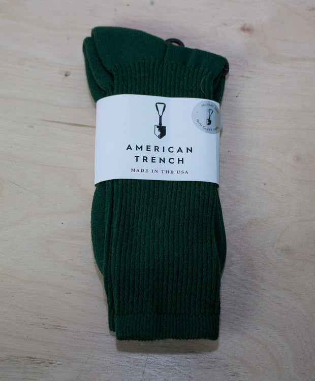 MIL-SPEC SPORTS SOCKS - OLIVE