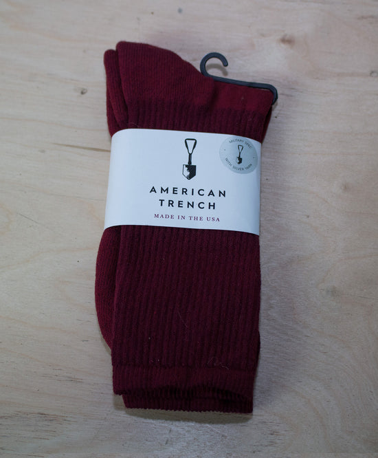 MIL-SPEC SPORTS SOCKS - OXBLOOD