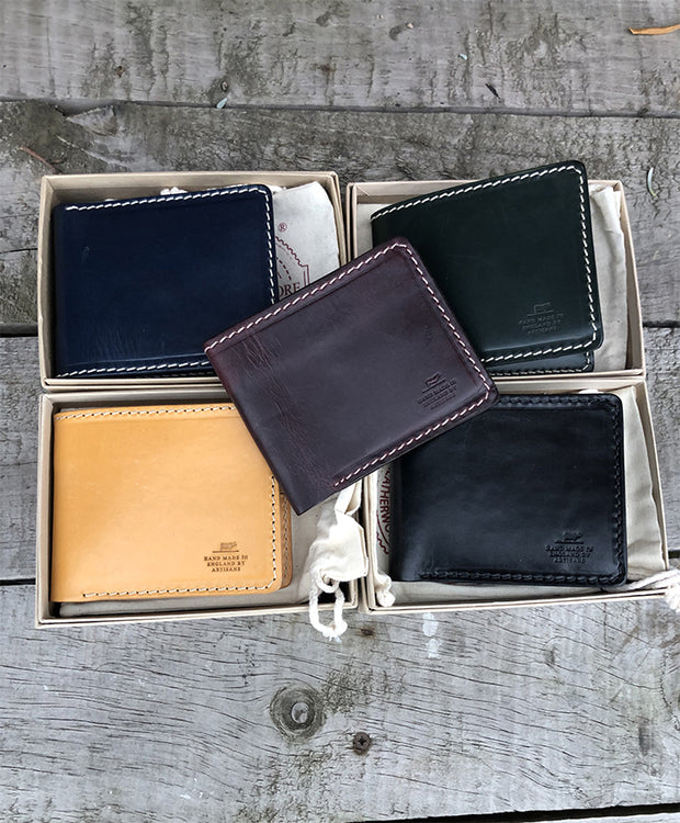 BARNES & MOORE QUARTERMASTER'S WALLET - RACING GREEN
