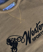 EAT DUST GRAPHIC WESTERN SWEAT